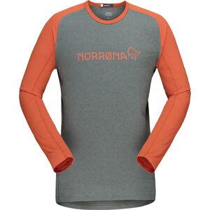 Norrøna Fjørå Equaliser Lightweight Long Sleeve Shirt Herr castor grey/pur castor grey/pur