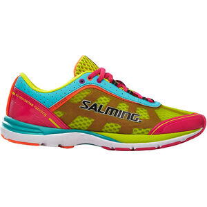 Salming Distance 3 Shoes Dam pink glo/turquoise