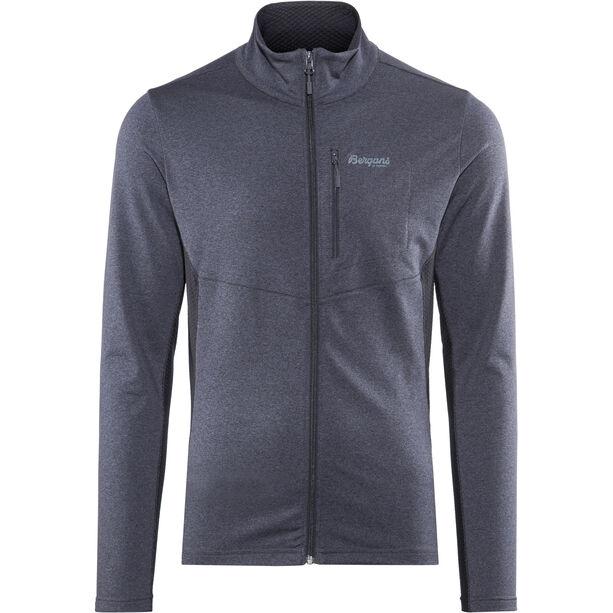 Bergans Fløyen Fleece Jacket Herr dark navy/dark steel blue