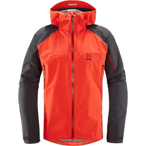 Haglöfs Roc Spirit Jacket Herr pop red/slate pop red/slate