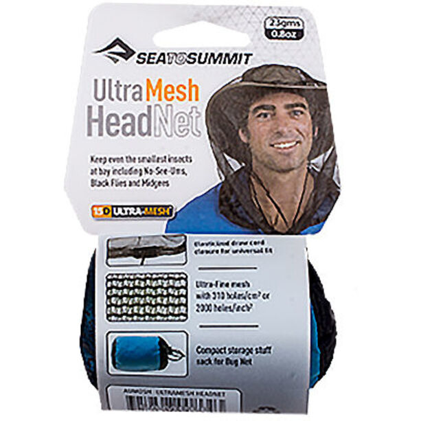 Sea to Summit Ultra-Fine Mesh Headnet black mesh