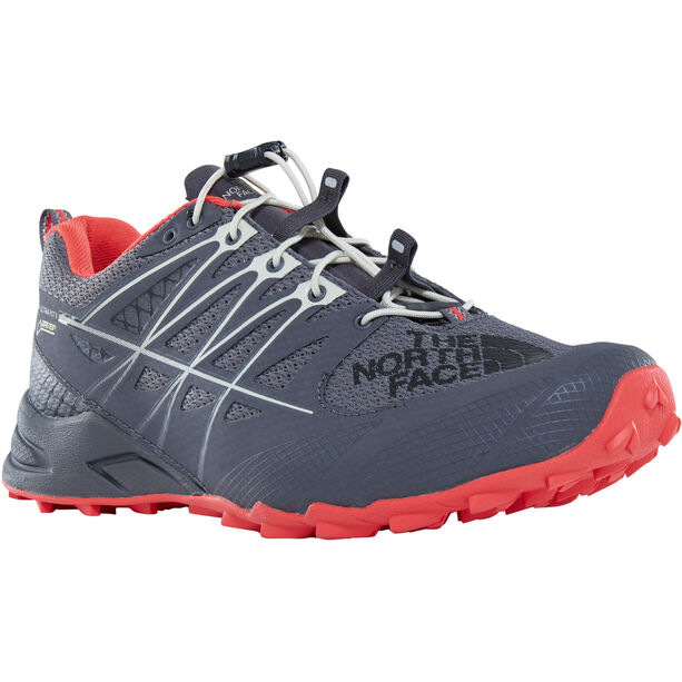 The North Face Ultra MT II GTX Shoes Dam blackened pearl/juicy red