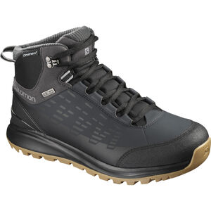 Salomon Kaïpo CS WP 2 Shoes Herr black/phantom/monument black/phantom/monument