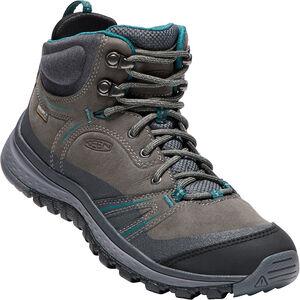 Keen Terradora WP Leather Mid Shoes Dam mushroom/magnet mushroom/magnet