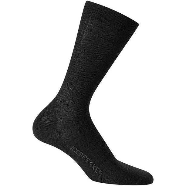 Icebreaker Lifestyle Ultra Light Crew Socks Herr black