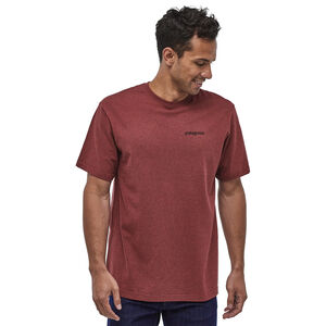 Patagonia Fitz Roy Horizons Responsibili Tee Herr Oxide Red Oxide Red