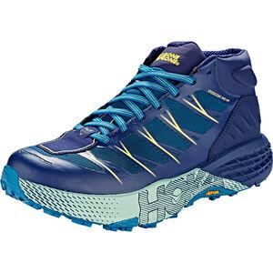 Hoka One One Speedgoat Mid WP Hiking Shoes Dam seaport/medieval blue seaport/medieval blue