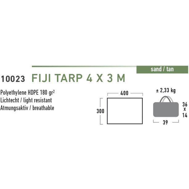 High Peak Fiji Tarp 4x3m tan