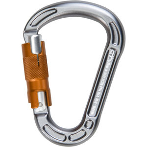 Climbing Technology Concept WG Carabiner grey/orange grey/orange