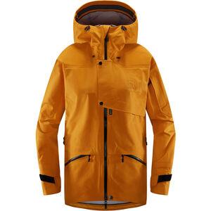Haglöfs Khione 3L Proof Jacket Dam Desert Yellow/True Black Desert Yellow/True Black