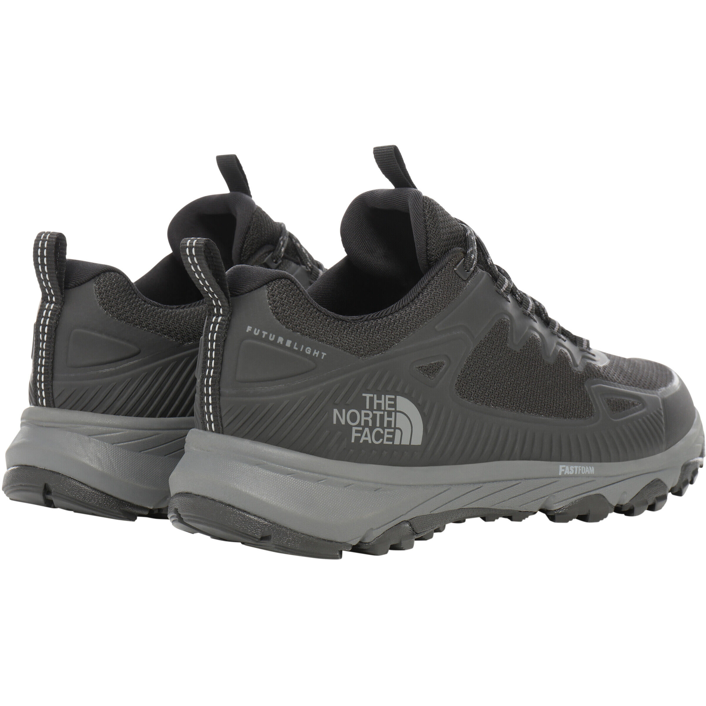 The North Face TRUXEL Hiking shoes blackebony grey