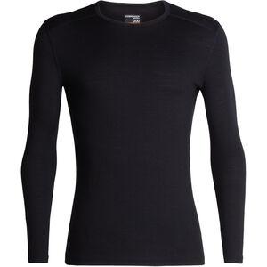 Icebreaker 200 Oasis LS Crewe Shirt Herr black black