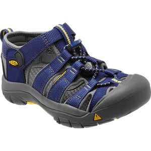 Keen Newport H2 Sandals Ungdomar blue depths/gargoyle