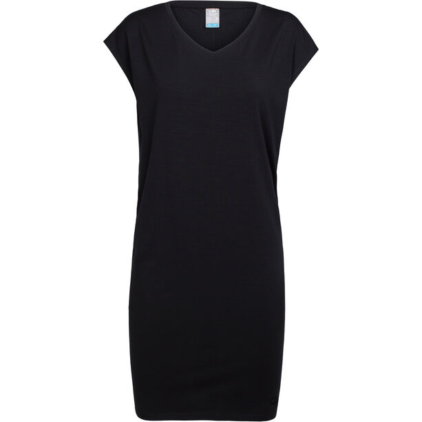 Icebreaker Yanni Tee Dress Dam black