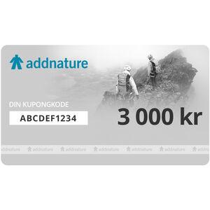 addnature Gift Voucher 3000 kr