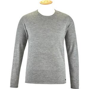 Alchemy Equipment 14 Gauge Merino Long Sleeve Crew Shirt Herr grey marle grey marle