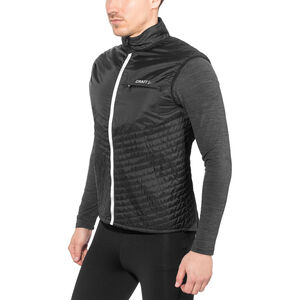 Craft Urban Run Body Warmer Herr black/silver black/silver