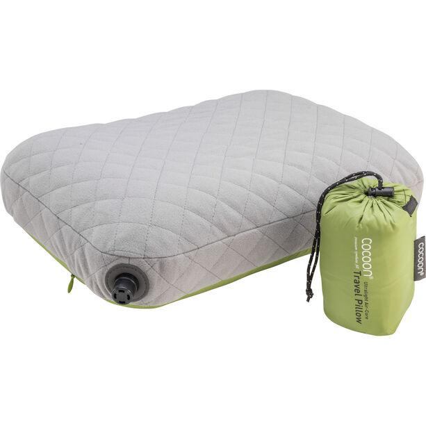 Cocoon Air Core Pillow Ultralight Standard wasabi/grey
