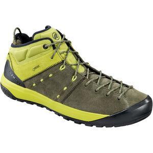 Mammut Hueco Mid GTX Shoes Herr iguana-dark citron iguana-dark citron