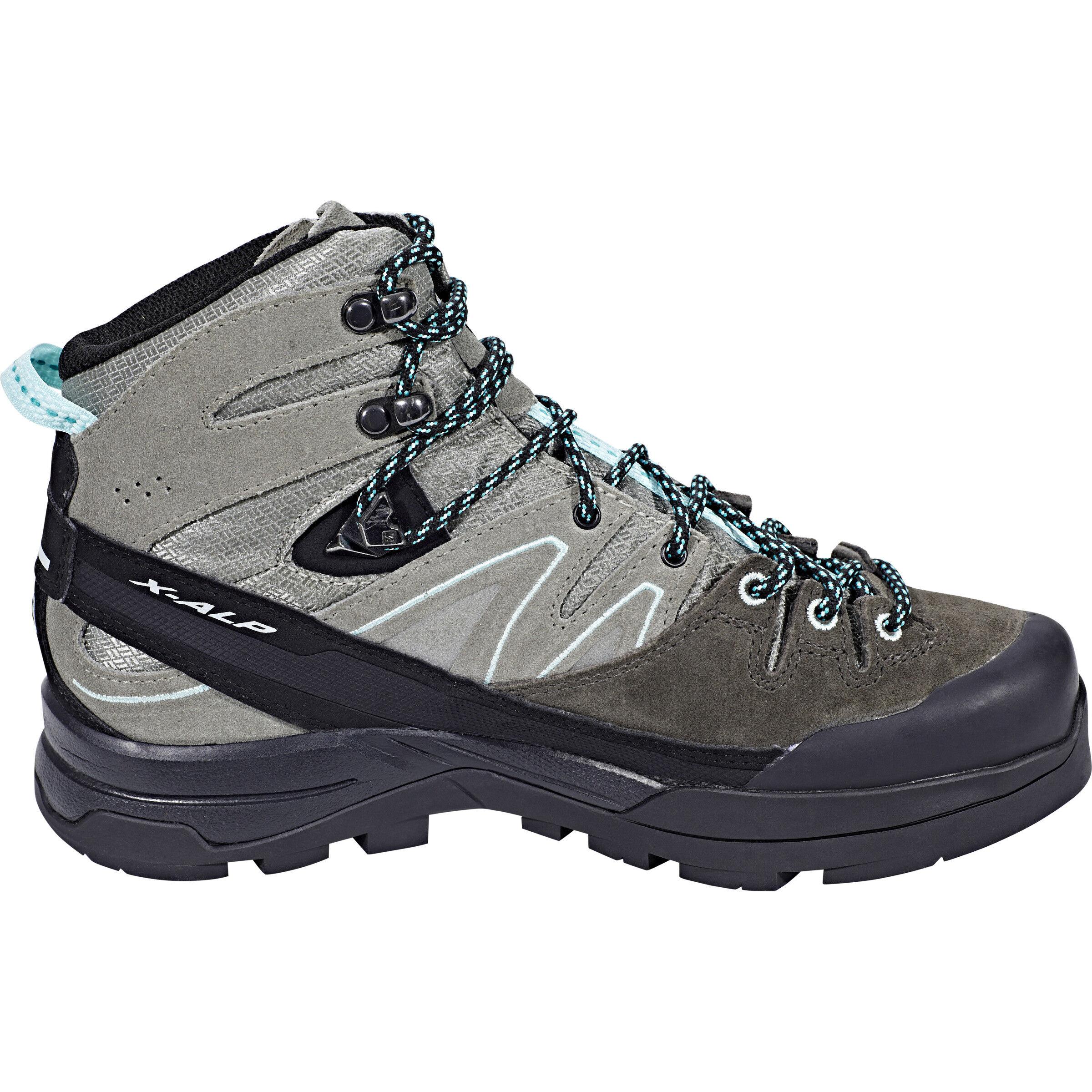 Salomon X Alp Mid LTR GTX Shoes Dam shadowcastor grayaruba blue