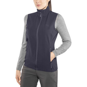 Bergans Ramberg Softshell Vest Dam dark navy/night blue dark navy/night blue