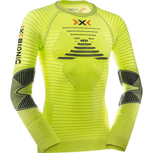 X-Bionic Effektor Power Running Shirt LS Herr green lime/black green lime/black
