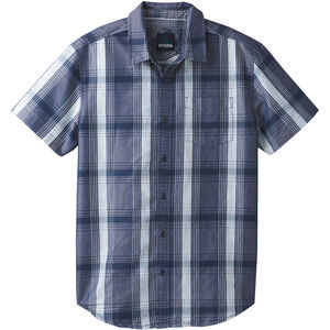 Prana Tamrack SS Shirt Herr equinox blue equinox blue