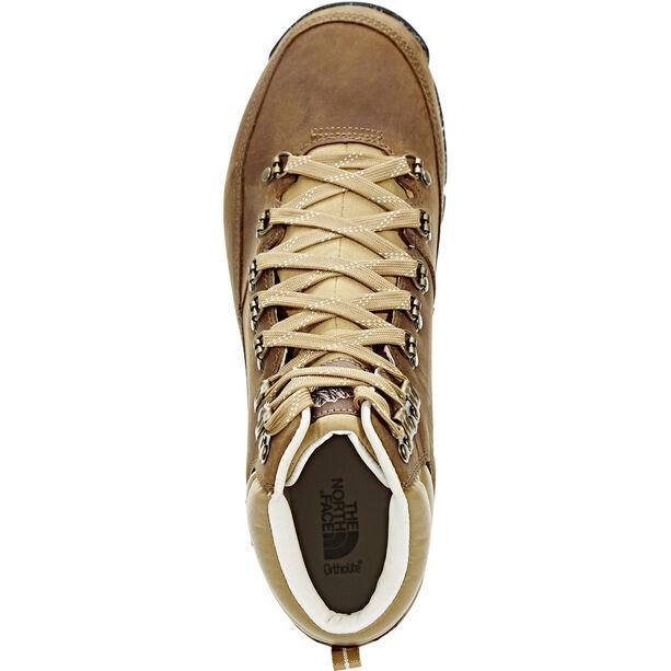 The North Face Back-To-Berkeley Redux Leather Shoes Herr Dijon Brown/Vintage White Dijon Brown/Vintage White