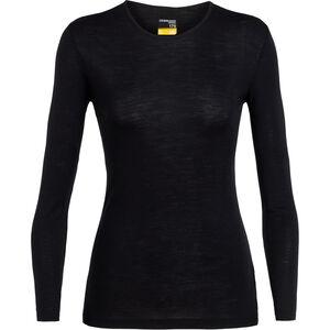 Icebreaker 175 Everyday LS Crewe Shirt Dam black black