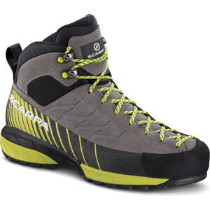 Scarpa Mescalito Mid GTX Shoes Dam midgray/light green midgray/light green