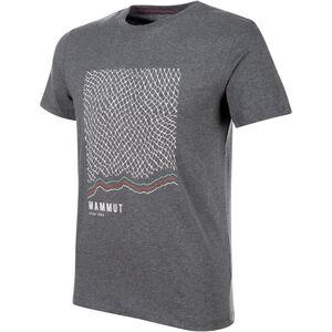 Mammut Sloper T-shirt Herr storm melange storm melange