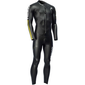 Head SwimRun Race Suit Herr black /gold black /gold