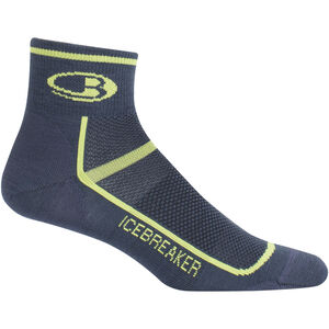 Icebreaker Multisport Ultra Light Mini Socks Herr oil/citron oil/citron