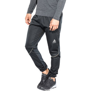 Odlo Zeroweight Windproof Warm Pants Herr black black