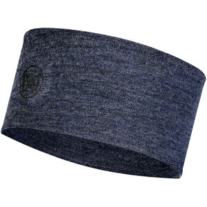 Buff 2 Layers Midweight Merino Wool Headband night blue melange night blue melange