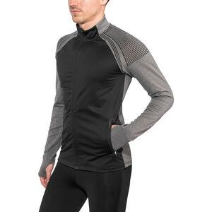 Craft Urban Run Fuseknit Jacket Herr black/dk grey melange black/dk grey melange