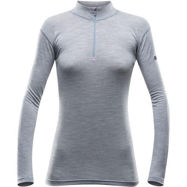Devold Breeze Half Zip Neck Shirt Dam grey melange