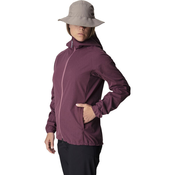 Houdini Daybreak Jacket Dam giddy grape