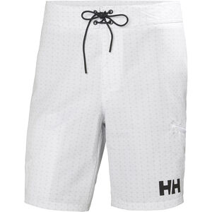 "Helly Hansen HP Board Shorts 9"" Herr white white"