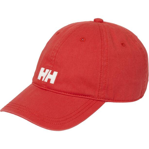 Helly Hansen Logo Cap alert red