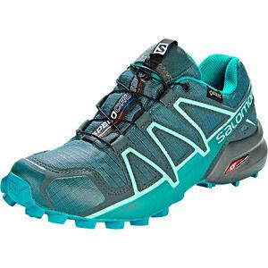 Salomon Speedcross 4 GTX Shoes Dam balsam green/tropical green/beach glass balsam green/tropical green/beach glass