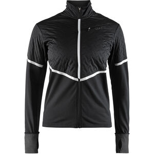Craft Urban Run Thermal Wind Jacket Dam black/silver reflective black/silver reflective