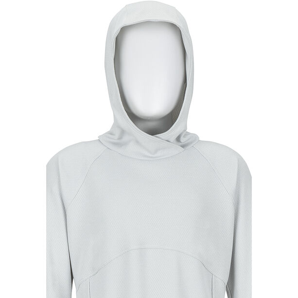 Marmot Sunrift Hoody Flickor bright steel