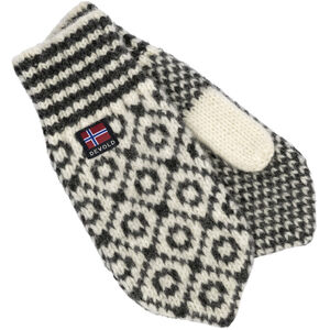 Devold Svalbard Mittens offwhite/anthracite offwhite/anthracite