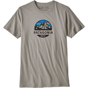 Patagonia Fitz Roy Scope Organic T-shirt Herr feather grey feather grey