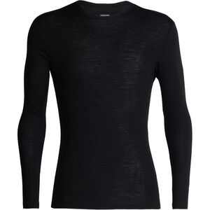 Icebreaker 175 Everyday LS Crewe Shirt Herr black black