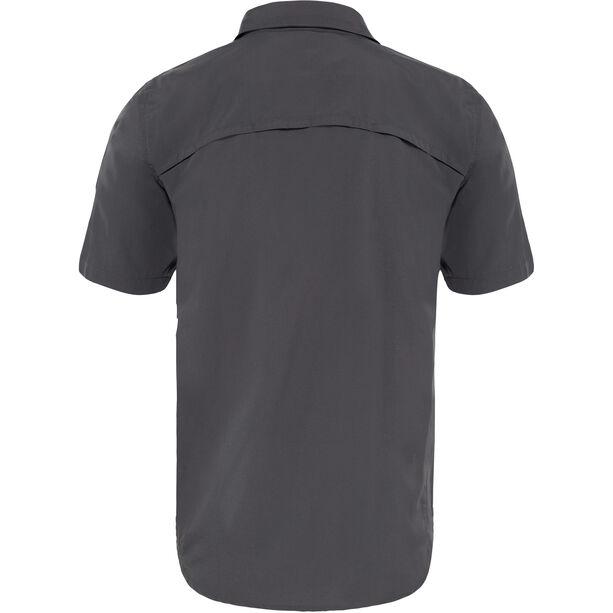 The North Face Sequoia S/S Shirt Herr asphalt grey/mid grey