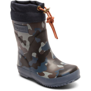 bisgaard Thermo Rubber Boots Barn Camouflage Blue Camouflage Blue