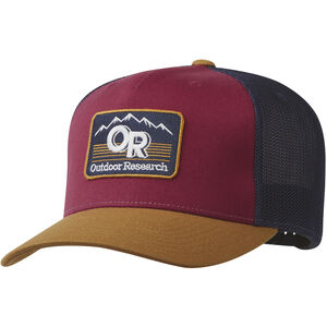 Outdoor Research Advocate  Trucker Cap curry/garnet curry/garnet