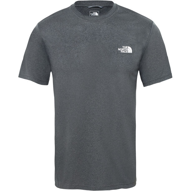 The North Face Reaxion Ampere Crew Shirt Herr tnf dark grey heather/high rise grey